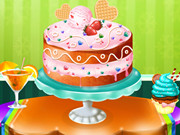 3 Flavors Ice Cream Cake