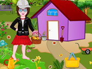 Baby Princess Garden Cleaning