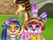 Crazy Hair Salon At Zoo