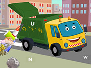 Garbage Trucks Hidden Letters