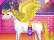 Horse And Unicorn Caring