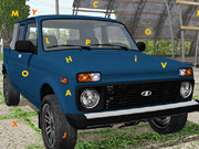 Lada Car Hidden Letters