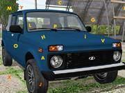 Lada Car Hidden Letters