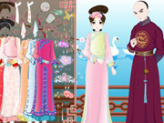 Qing Princess Dating Dress Up