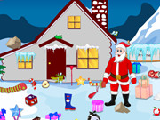 Santa Winter Home Cleaning