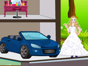 White Princess Doll House