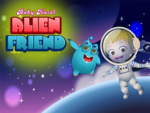 Baby Hazel Alien Friend
