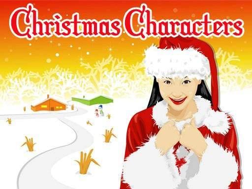 Christmas Characters Slide