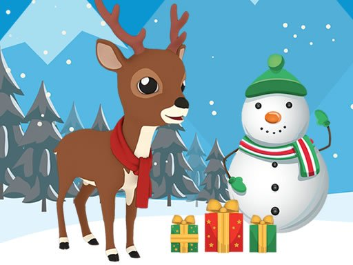 Christmas Deer Jigsaw
