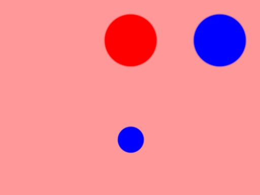Color Pong Game