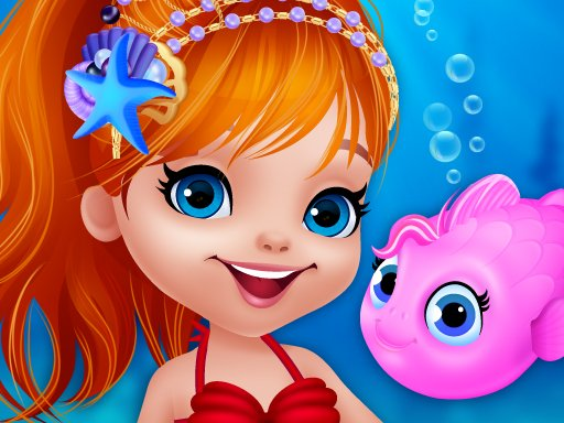 Cute Mermaid Dress Up Game