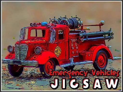 Emergency Vehicles Jigsaw