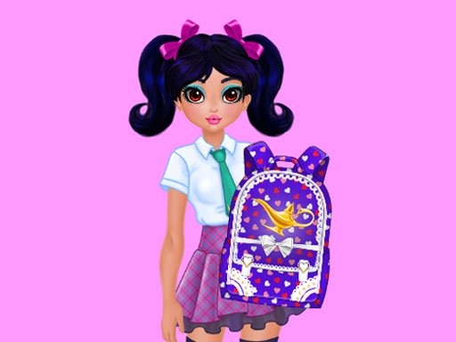 Jasmine and Elsa – School Bag Design Contest