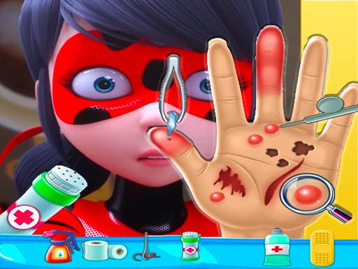 ladybug miraculous Hand Doctor – Fun Games for Gir