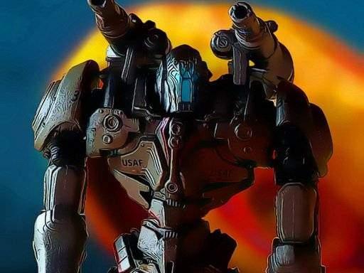 Metal Robot Puzzle