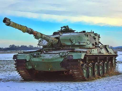 Military Tanks Jigsaw