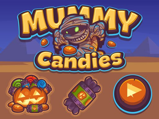 Mummy Candies | Fullscreen HD Game