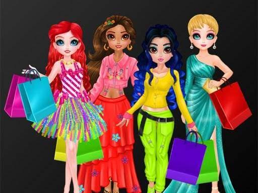 Princesses Crazy About Black Friday