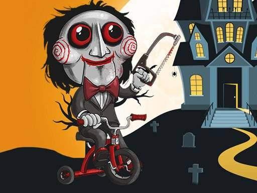 Scary Faces Jigsaw