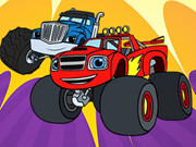 Blaze Monster Truck Coloring Book
