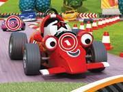 Cartoon Racing Car Differences