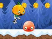 Ninja Pumpkin Winter Edition