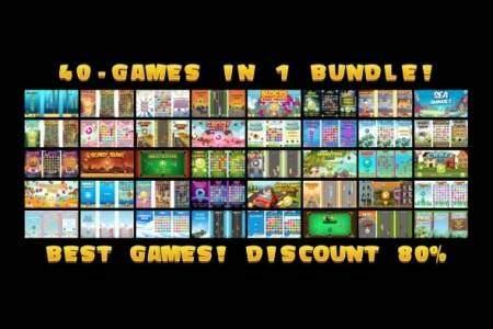 40-GAMES IN 1 BUNDLE!