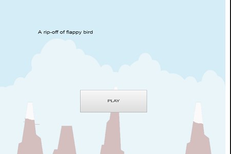 a rip-off of flappy bird