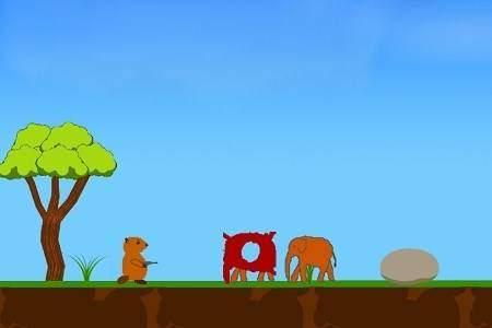 Angry Beavers VS Alien Elephants
