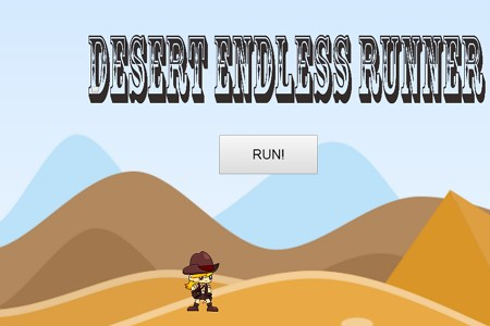 Desert Endless Runner