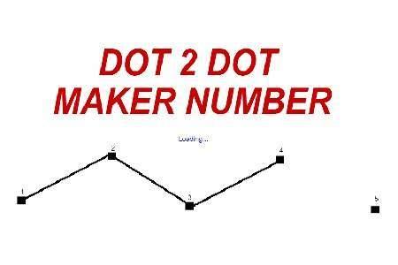Dot 2 Dot Maker Number