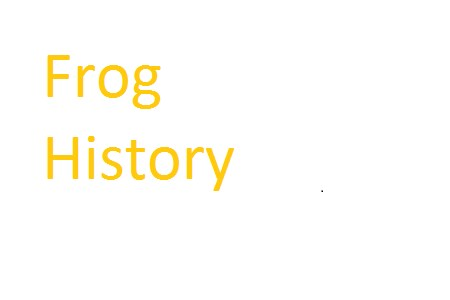 Frog history