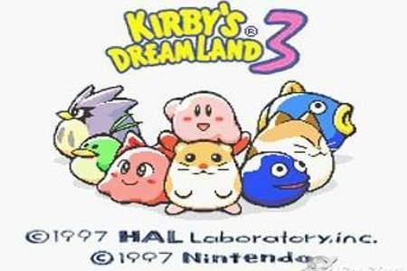 """kirby""""s dreamland 3"""