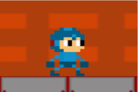 Mega Man- Fire Man stage remake