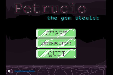 Petrucio, the gem stealer