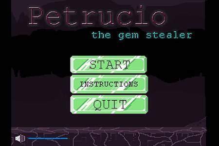Petrucio, the gem stealer
