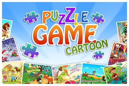 Puzzle Game Cartoon