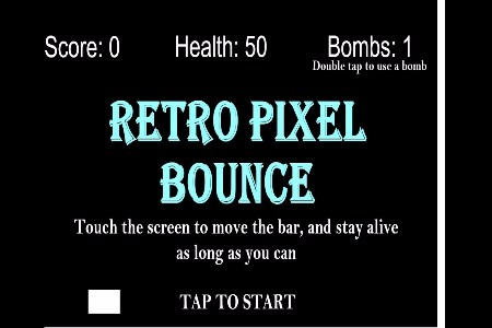 Retro Pixel Bounce