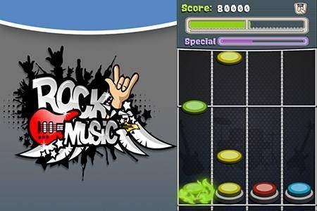 Rock Music (Guitar Hero Style)