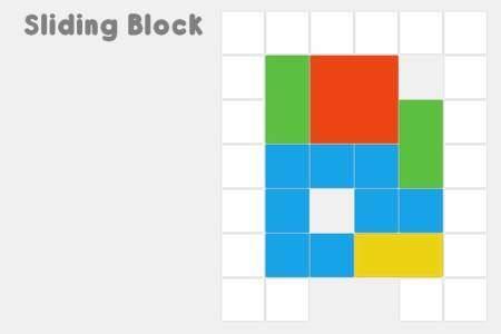 Sliding Block Puzzle Game