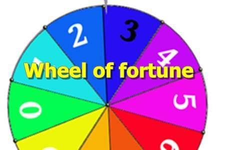 WheelOfFortune template