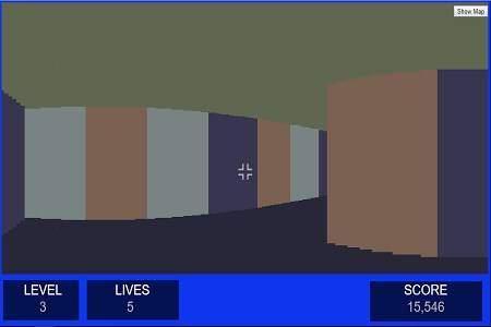 Wolfenstein RayCast Rendering